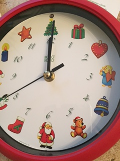 Weihnachtsuhr von KooKoo