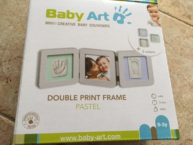 Produkttest Double Print Frame von Baby Art über mibaby.de