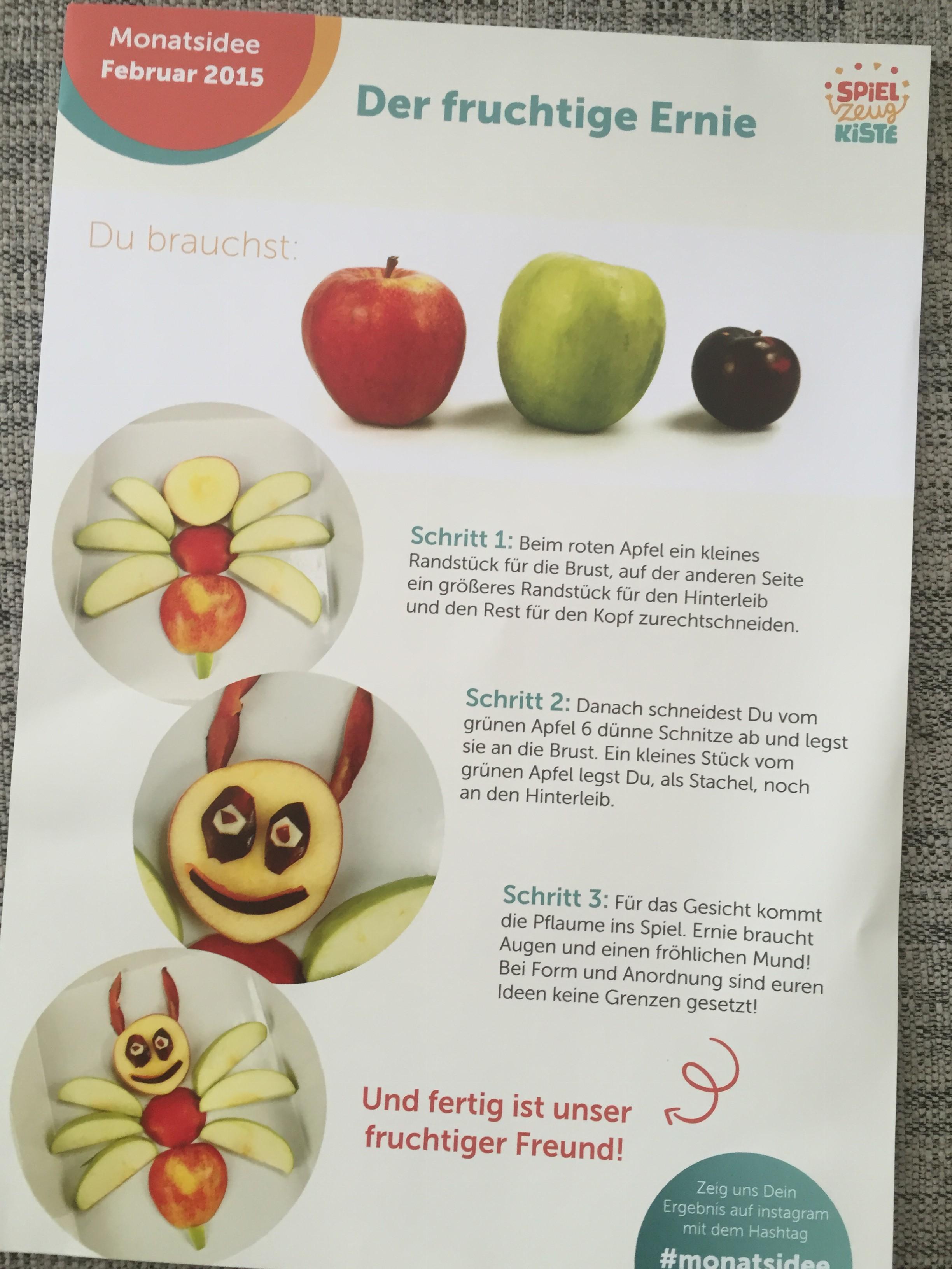 Der fruchtige Ernie