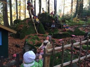 Märchenwald, bayerischer wald, arbersee, großer arber, nationalpark, grimms märchen, dornröschen, rapunzel, hänsel und gretel, bremer stadtmusikanten