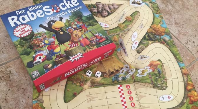 Der kleine Rabe Socke – Das große Rennen von AMIGO Spiele im Test