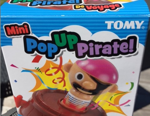 Mini Pop Up Pirate von TOMY – A pirates life for you!