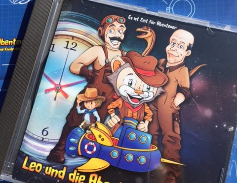 Hörspiel: Leo und die Abenteuermaschine – spannende Reise durch die Geschichte!