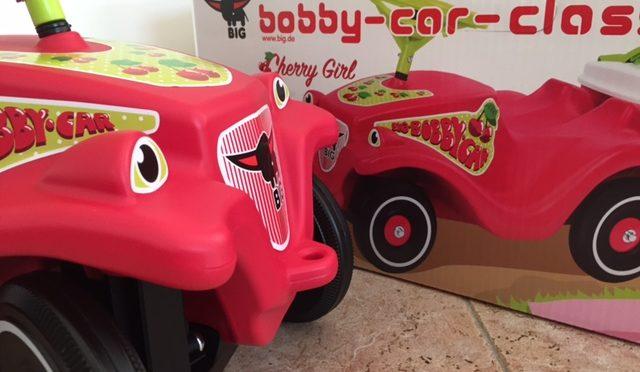 Auf zum Picknick mit dem BIG-Bobby-Car Classic Cherry Girl!