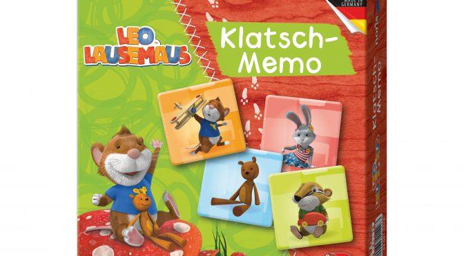 Türchen 19 Piratenprinzessin-Adventskalender – Leo Lausemaus Klatsch-Memo
