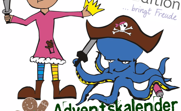Türchen 1 Piratenprinzessin Adventskalender – arsEdition