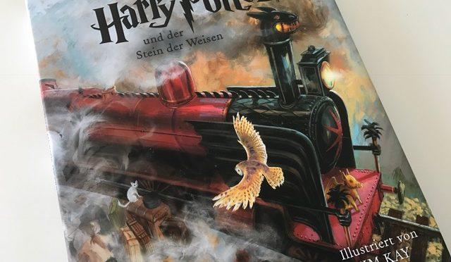 Buchrezension: Harry Potter und der Stein der Weisen, Schmuckausgabe – Carlsen Verlag