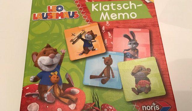 Leo Lausemaus Klatsch-Memo von Noris-Spiele im Test