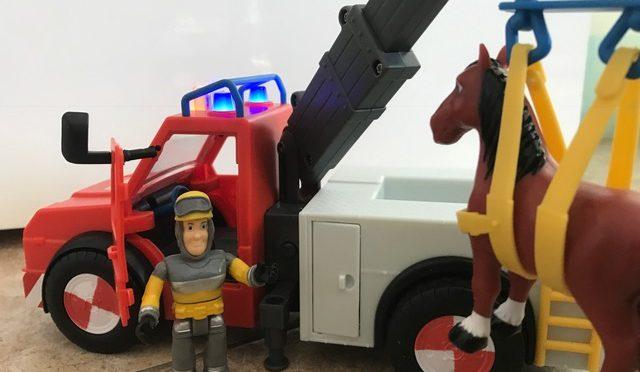 Einsatz für Feuerwehrmann Sam! Das Feuerwehrmann Sam Phoenix-Set im Test