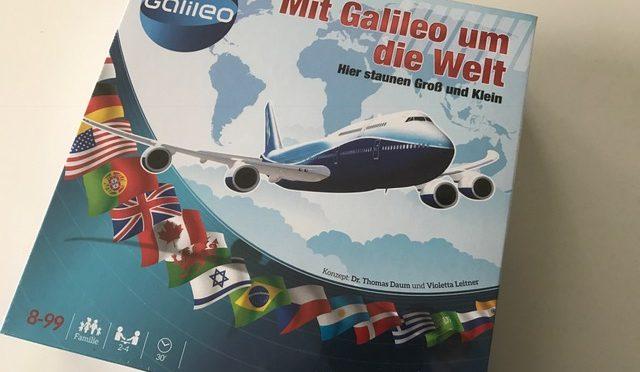 Mit Galileo um die Welt – Clementoni – Gewinnspiel