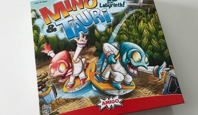 Mino und Tauri von AMIGO Spiele im Test – Spielrezension + Gewinnspiel