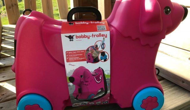 Tragen, Fahren, Ziehen und Spielen mit dem BIG Bobby-Trolley