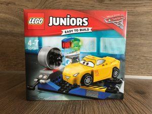 LEGO Juniors, smokeys garage, LEGO Juniors cars 3, LEGO Juniors cars 3 evolution, Lightning McQueen, Cruz ramirez, jack storm, Cruz ramirez rennsimulator