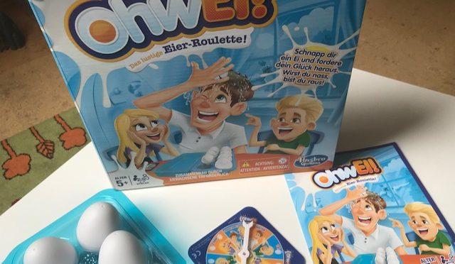OhwEi! Von Hasbro – ein feucht fröhlicher Familenspielspaß im Test!