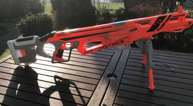 NERF ACCUSTRIKE Raptorstrike Blaster im Test