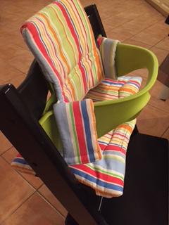 Stokke Tripp Trapp Babyset und Sitzkissen