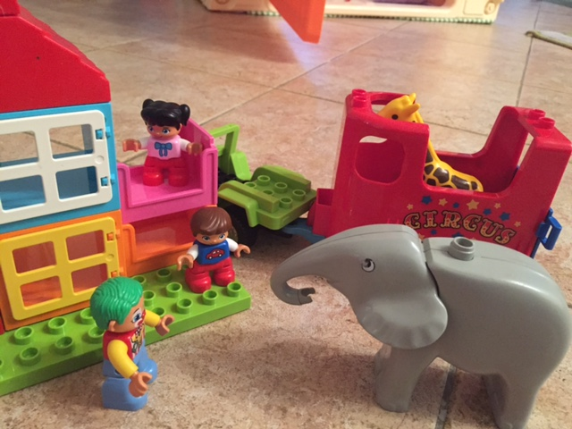 Lego Zirkus mit Clown