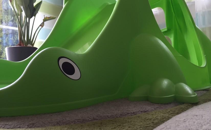 Paradiso Dino-Rutsche – Kinderrutsche für drinnen und draußen
