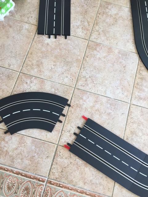 Zusammenbau der Carrerabahn