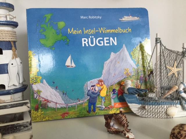Wimmelbuch-Vorstellung und Gewinnspiel – Rügen, O Glanz der blauen See!
