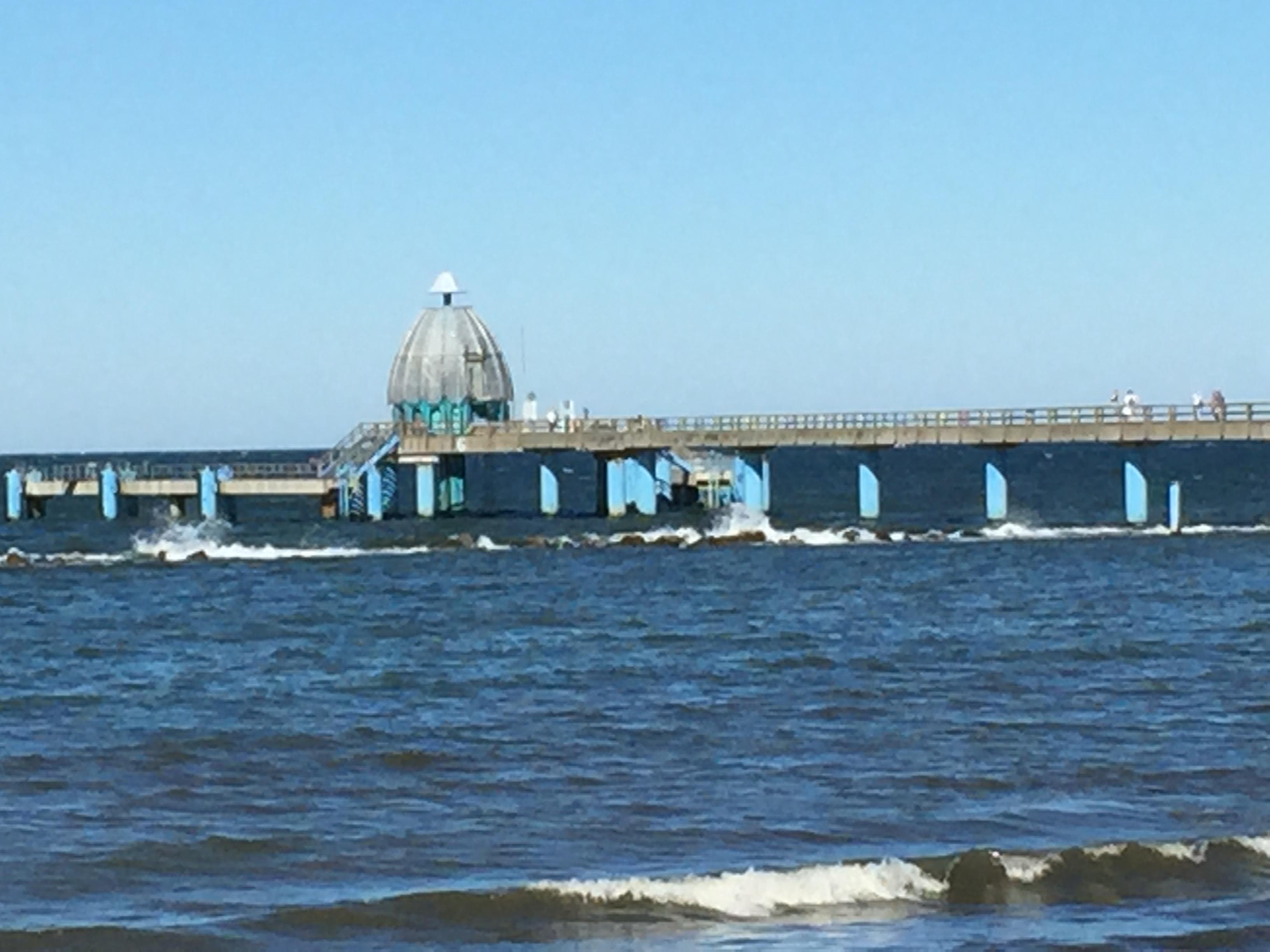 Seebrücke Sellin mit Tauchgondel