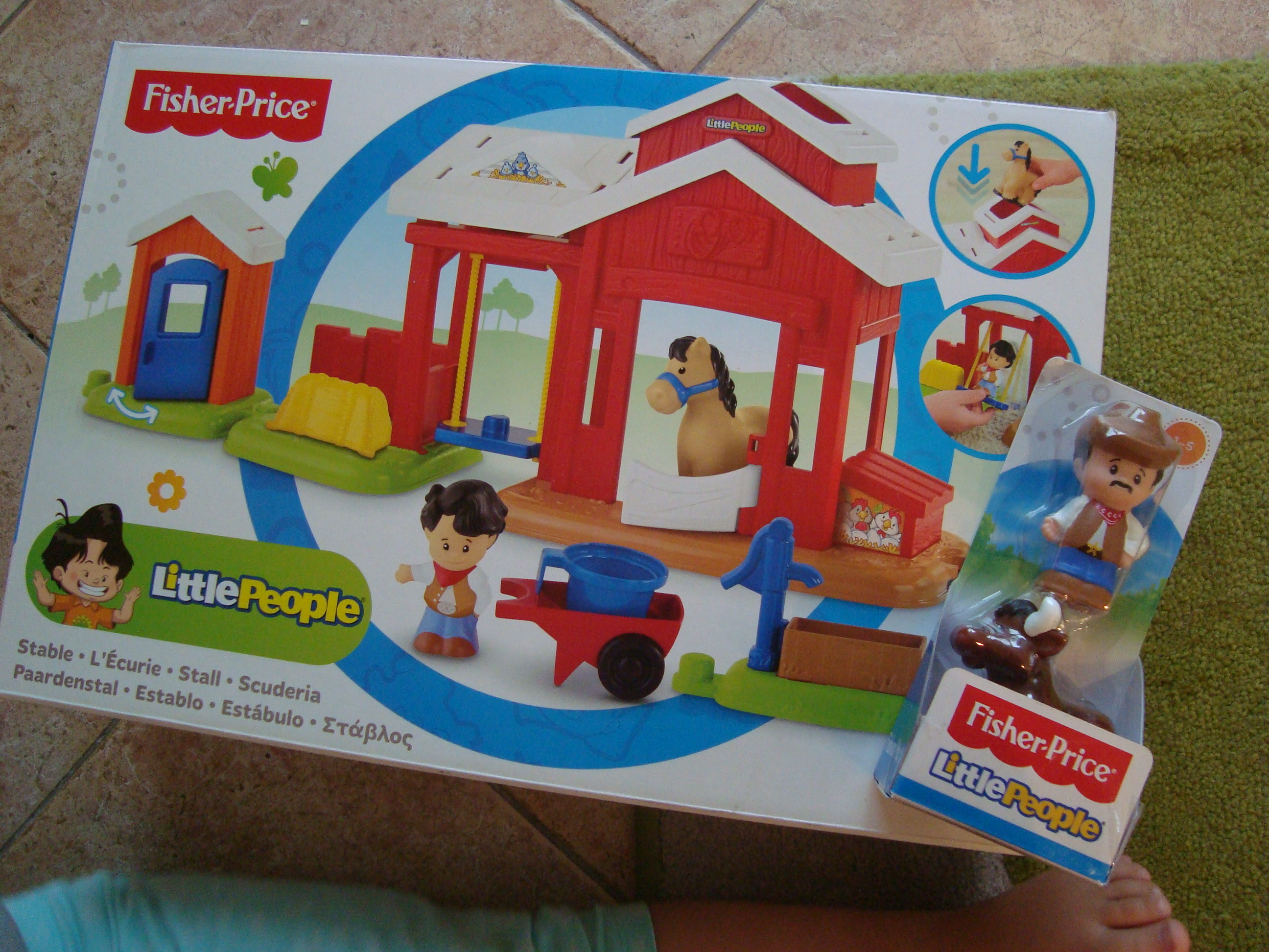 Fisher-Price Little People Pferdestall
