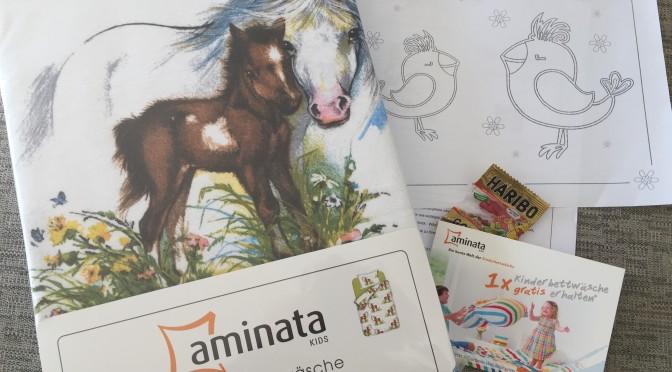 Aminata Kids Kinderbettwäsche + Selbst Kinderbettwäsche-Produkttester werden