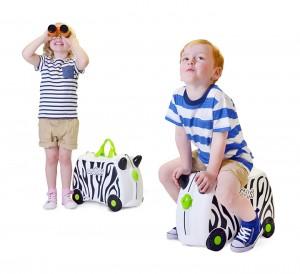 Trunki kinderkoffer, zimba das zebra, trunki suitcase, gewinnspiel