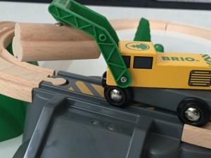 BRIO, BRIO Holzeisenbahn, Holzspielzeug, Brio, Brio waldarbeiter, brio forstwirtschaft