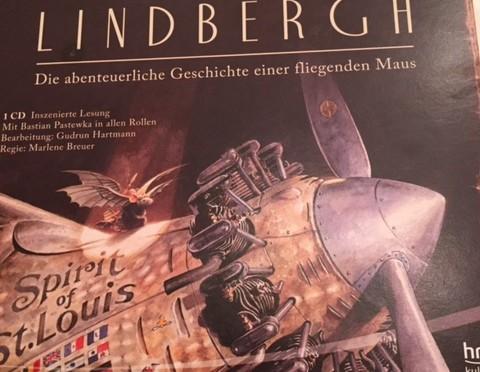 Hörbuch: Lindbergh – Die abenteuerliche Geschichte einer fliegenden Maus