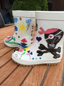 paintable Boots