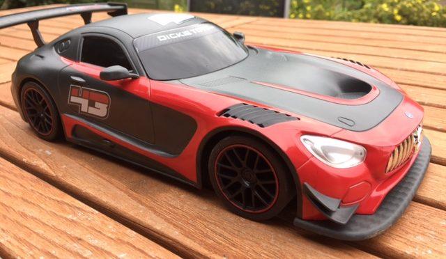 Produkttest: Ferngesteuerter RC Mercedes AMG GT3 von Dickie Toys