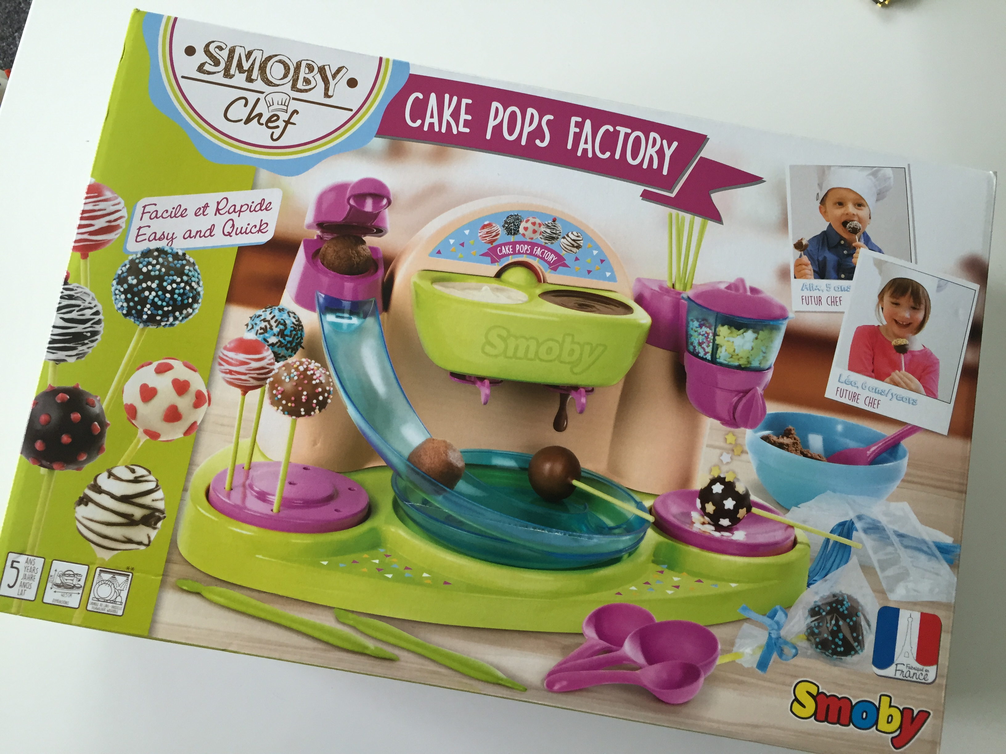 Smoby Chef Pop Cake