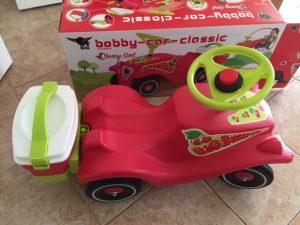 Bobby car cherry girl