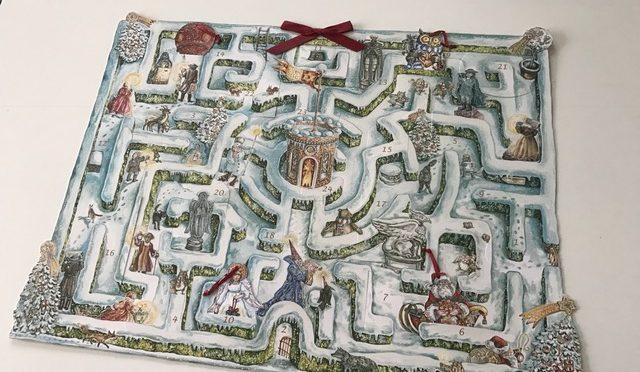 Das Weihnachtslabyrinth – ein märchenhafter Adventskalender von Caroline Ronnefeldt