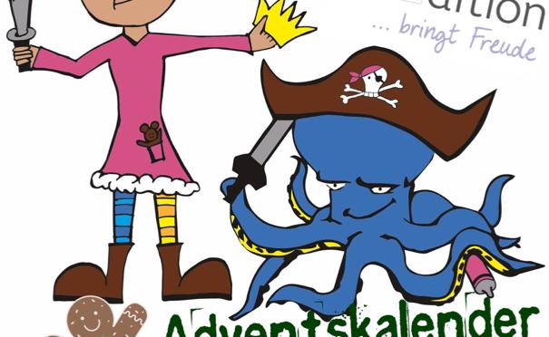 Türchen 1 Piratenprinzessin Adventskalender – Vorgestellt: arsEdition Weihnachtsbücher