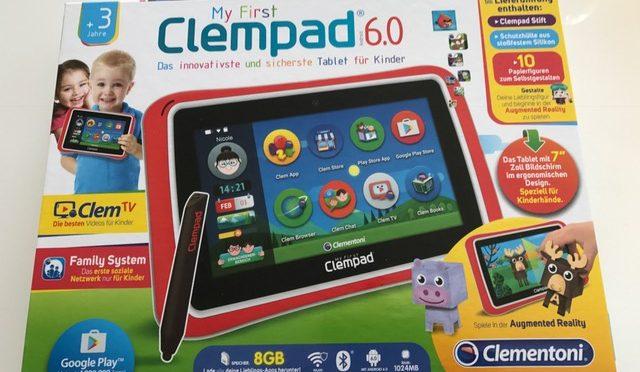 Mein erstes Tablet – Produktvorstellung Clempad 6.0 S