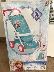 froezen, puppenwagen, mein erster puppenwagen, kinderwagen frozen, die eiskönigin puppenwagen,