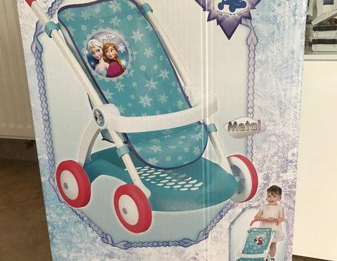 Smoby Frozen Puppenwagen – Der erste Puppenwagen für die Kleinsten