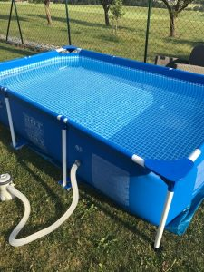 Intex Metal Frame Pool Wasserpflege