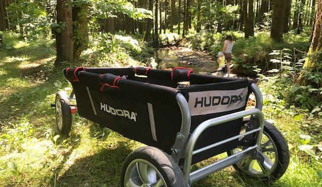 Mit dem Hudora Überländer über Stock und über Stein – Bollerwagentest