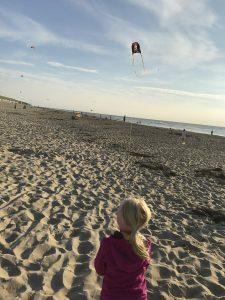 Urlaub auf Texel Drachenfliegen