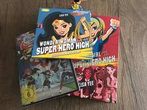 DC Super Hero Girls Fanpaket