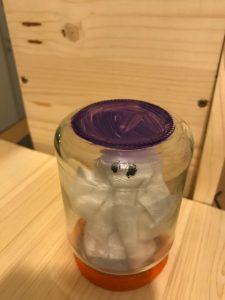 Geist im Glas Halloweendekoration