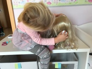BABY born® Sister Styling Head Rollenspiel