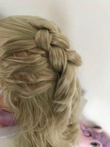 BABY born® Sister Styling Head French Braid