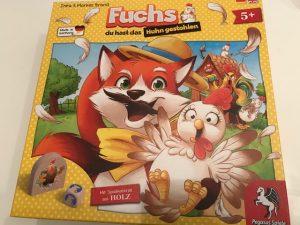 Fuchs du hast das Huhn gestohlen