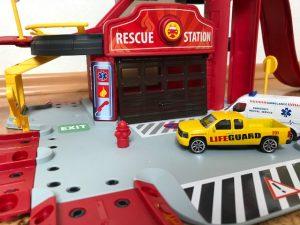 Creatix Rettungsstation Garage