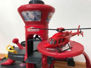 Creatix Rettungsstation Hubschrauberlandeplatz