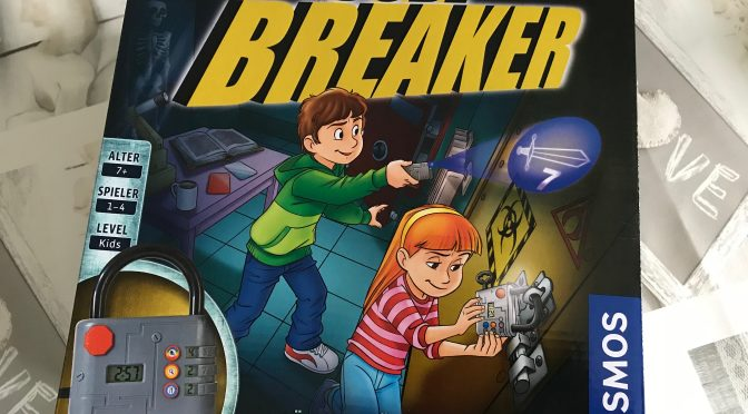 Rezension: KOSMOS EXIT Kids Code Breaker